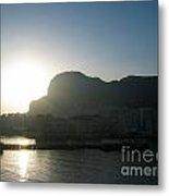 The Rock Of Gibraltar Metal Print