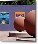 The Rounds Of Pershing Square Metal Print