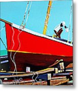 The Rum Punch Metal Print