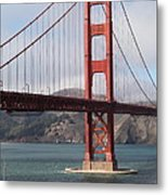 The San Francisco Golden Gate Bridge - 5d18911 Metal Print