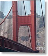 The San Francisco Golden Gate Bridge - 7d19057 Metal Print