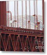 The San Francisco Golden Gate Bridge - 7d19060 Metal Print