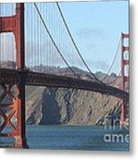 The San Francisco Golden Gate Bridge - 7d19184 Metal Print
