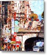 The San Francisco Stockton Street Tunnel . 7d7355 Metal Print