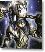 The Sapphire Of Fate Metal Print