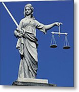 The Scales Of Justice Metal Print