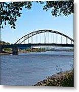 The Scotswood Bridge Metal Print