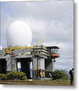 The Sea Based X-band Radar, Ford Metal Print