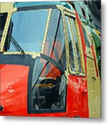 The Sea King Helicopter Used Metal Print