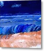 The Sea Metal Print