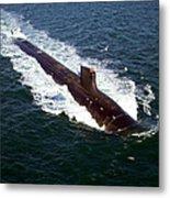 The Seawolf-class Nuclear-powered Metal Print