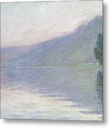 The Seine At Port Villez Metal Print by Claude Monet