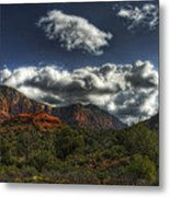 The Serenity Of Sedona  Metal Print