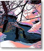 The Shades Of Winter Metal Print