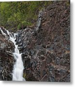 The Shallows Waterfall 4 Metal Print