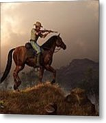 The Sharpshooter Metal Print by Daniel Eskridge