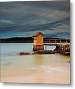 The Shed - Camp Cove  Metal Print