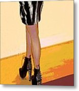 The Shoes Metal Print by Ann Powell
