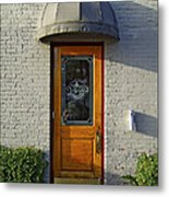 The Side Door Metal Print
