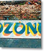 The Sign Of The Ozone Metal Print