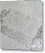 The Simple Box Metal Print