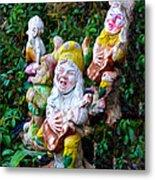 The Singing Gnomes Metal Print