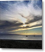 The Sky Is Exploding Metal Print
