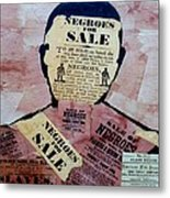 The Slave Metal Print