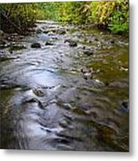 The Slow Flow Of Things  Metal Print