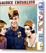 The Smiling Lieutenant, From Left Metal Print by Everett