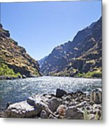 The Snake River In Hells Canyon Metal Print