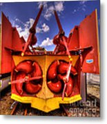 The Snowblower Metal Print