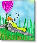 The Song  Metal Print