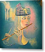 The Song Of The Forgotten Gods Metal Print