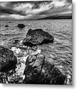 The Sound Of The Waves Metal Print by John Farnan