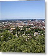The Southern City Of Birmingham Alabama Metal Print