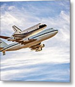 The Space Shuttle Endeavour Metal Print