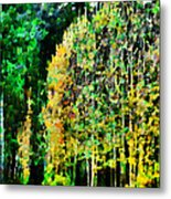 The Speckled Trees Metal Print