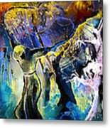 The Spell Metal Print