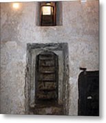 The Stairs To John The Baptist Tomb Metal Print