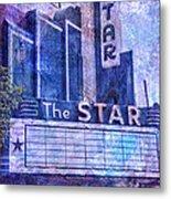 The Star Metal Print