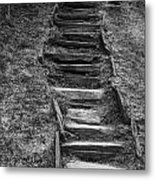 The Stone Staircase  Metal Print