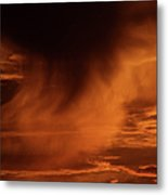 The Storm Is Brewing Metal Print