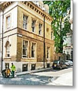The Streets Of London Metal Print