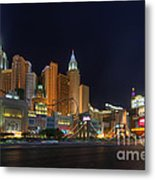The Strip Metal Print