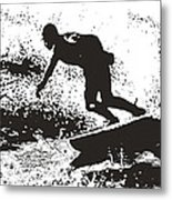 The Surfer Metal Print by Brian Roscorla