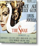 The Swan, Grace Kelly, 1956 Metal Print