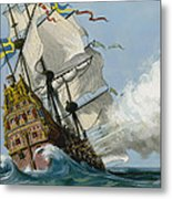 The Swedish Warship Vasa Metal Print