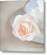 The Sweetest Rose Metal Print