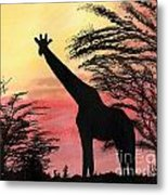 The Tall One Metal Print